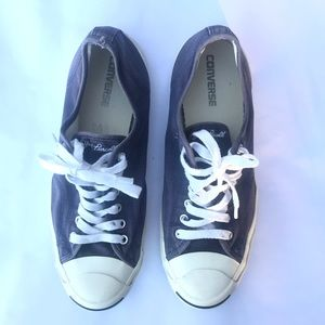 Men's navy blue Jack Purcell low top shoes